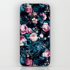 Roses Blue iPhone Skin