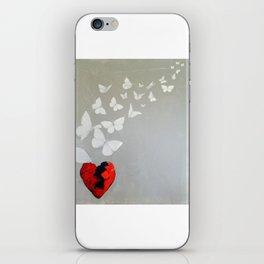 BUTTERFLIES IN SHADE iPhone Skin