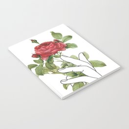 Flower in the Hand Notebook