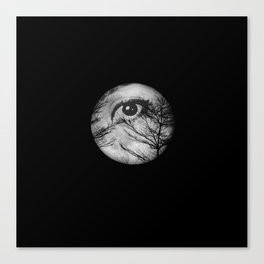 Once Upon a Blue Moon Canvas Print