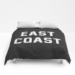 East Coast - black Comforters