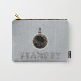 Funny Coffee Powered Standby Carry-All Pouch