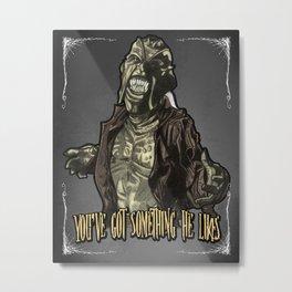 The Creeper Metal Print