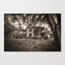 House of Horrors Canvas Print