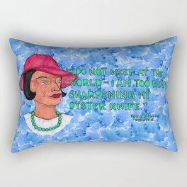 Zora Neale Hurston Rectangular Pillow
