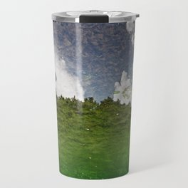 The Sky swims in the lake Travel Mug