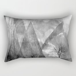 In the Shadows Rectangular Pillow
