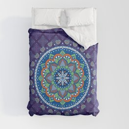 Bohemian Style Indian Mandala Duvet Cover