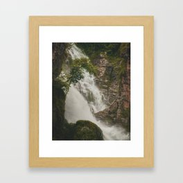The Waterfalls of Nepal 001 Framed Art Print