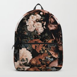 SKULL AND FLOWERS II Backpack
