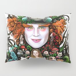 We are all mad here Pillow Sham