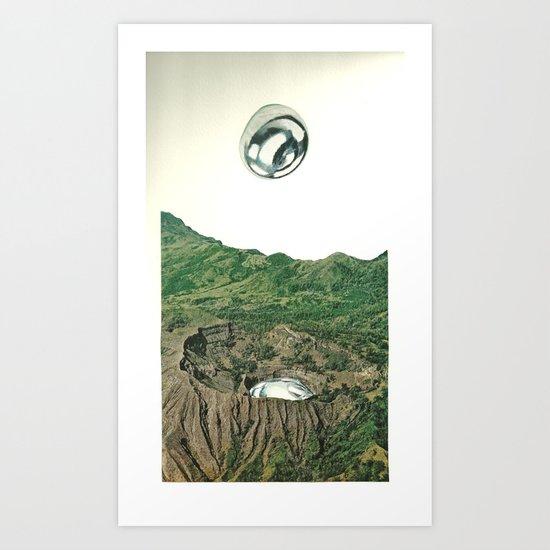 Mercury Rising Art Print
