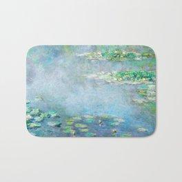 Monet Water Lilies / Nymphéas 1906 Bath Mat