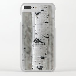 What a Birch Clear iPhone Case