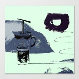 French Pressure Canvas Print