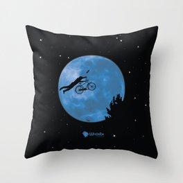 ET Bike Home! Throw Pillow