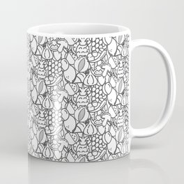 Vegetables and fruit pattern Coffee Mug