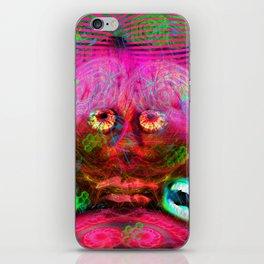 Overactive Brain iPhone Skin