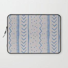 Moroccan Stripe in Cobalt Laptop Sleeve