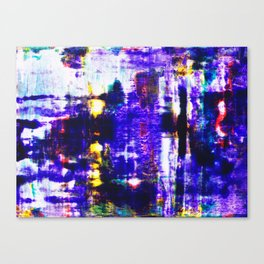 Glitch In The System Canvas Print