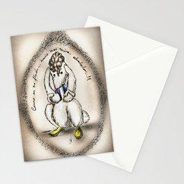 Mes lapins: Como en un flash!!.. Stationery Cards