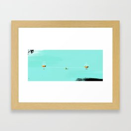 Find Balance Framed Art Print