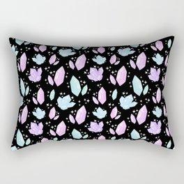 Magical Crystals Rectangular Pillow