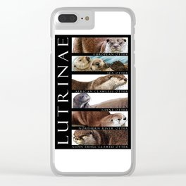 Otters of the World Clear iPhone Case