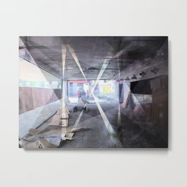 Tuesday 18 December 2012: recollect every single trajectory Metal Print
