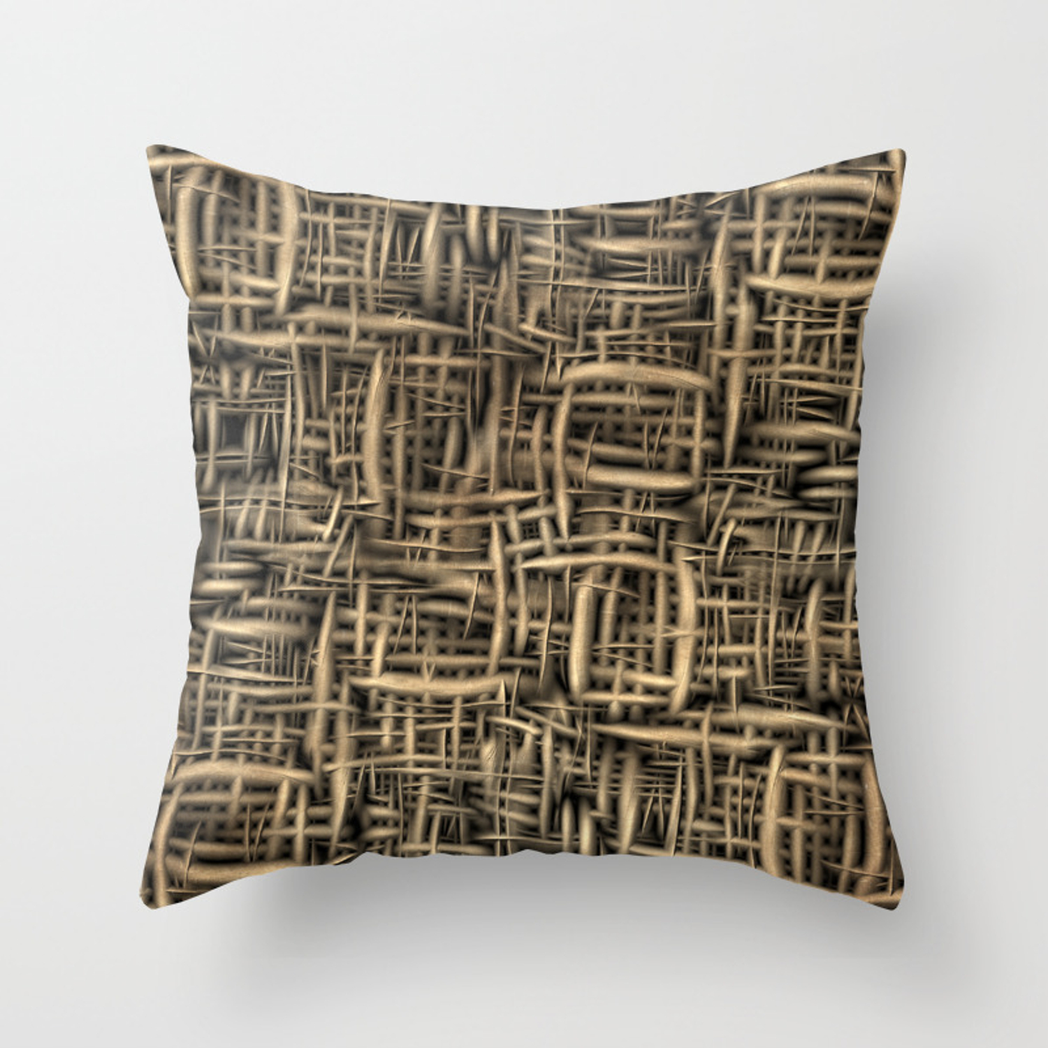 3d Background Texture Of Wood Seamless Throw Pillow By Vadimivanchin Society6
