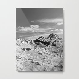 White Pocket 2 Metal Print