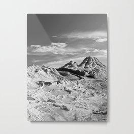 White Pocket 2 Metal Print