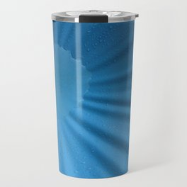Blue water sun Travel Mug