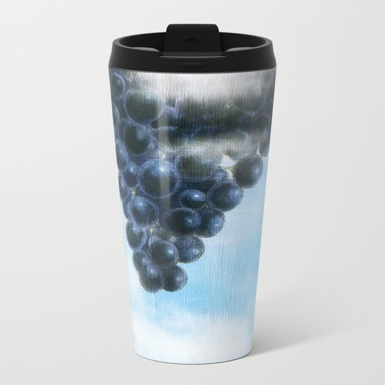 Grapes' Heaven Metal Travel Mug