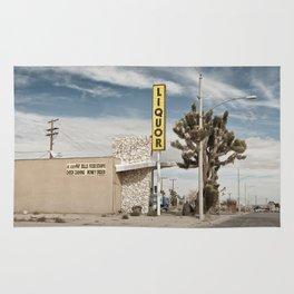 Liquor Store Yucca Valley Rug