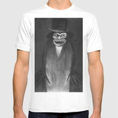 BABADOOK White LARGE Mens Fitted Tee