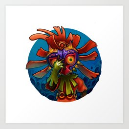 Mask of Majora Art Print