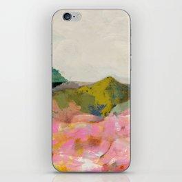summer landscape iPhone Skin