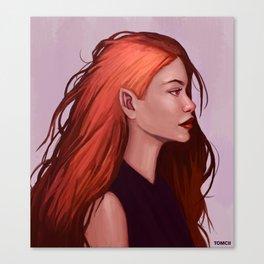 Red Hair Canvas Print
