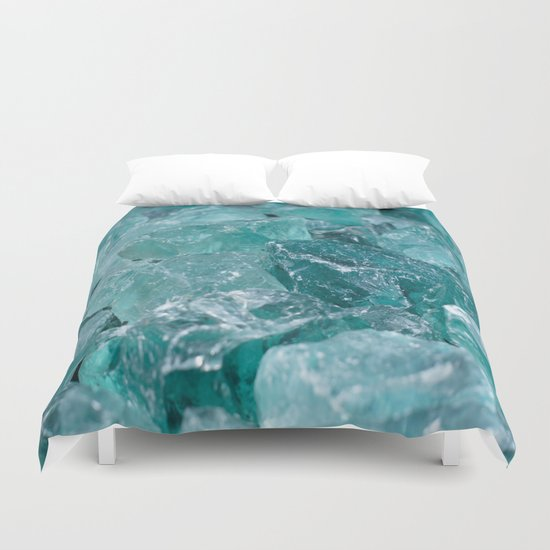 Blue Rocks Duvet Cover