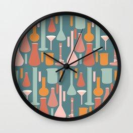 Laboratory Glassware No. 4 Wall Clock