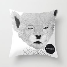 Baby Puma Throw Pillow