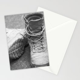 A Mile in My Boots Stationery Cards