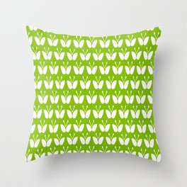 stylised butterflies Throw Pillow