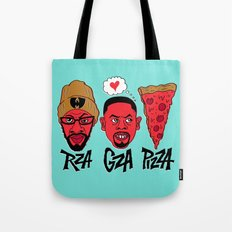 RZA, GZA, PIZZA Tote Bag