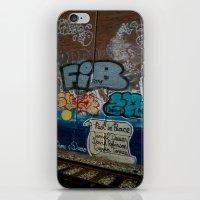 grafitti iPhone & iPod Skins featuring Grafitti Art by Lisa De Rosa-Essence of Life Photography