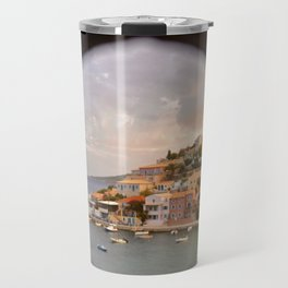 balcony view Travel Mug