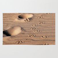 dune Area & Throw Rugs featuring SAND DUNE  by CAPTAINSILVA