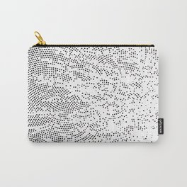 Planet Surface Circle Carry-All Pouch