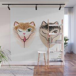 Vulvacat Duo Wall Mural